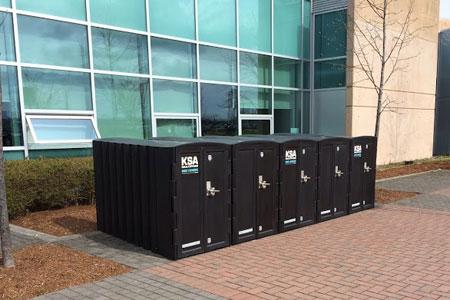 Aecinfo Com News Bike Lockers Fully Enclosed Bike