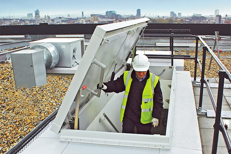 Roof Hatches From Bilco On Aecinfo Com