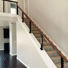 Black Aluminum Cable Railing