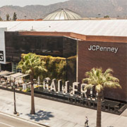 Black Granite on Glendale Galleria Mallon