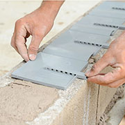 BlockFlash - The Complete Flashing Solution for Single Wythe Concrete Masonry Unit Walls