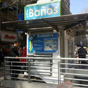 Boon Edam Turnstiles Part of Security Upgrade for Eco Baños in Chile's Capital City
