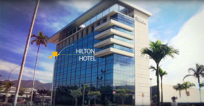 Take me to the Hilton: Despite the site's high water table, the basement of the new Hilton Barra Hotel in Rio de Janeiro is waterproof thanks to PENETRON ADMIX.