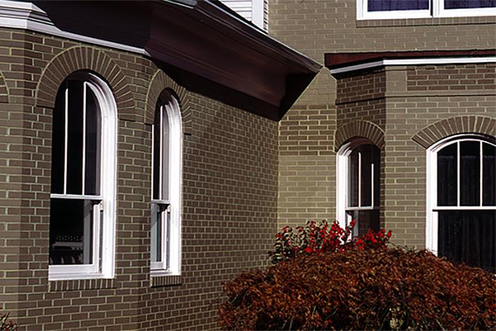 Brick Window Treatments