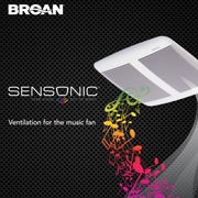 Broan Sensonic Bluetooth Speaker Fan