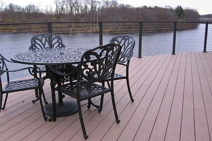 Bronze Aluminum Cable Railing