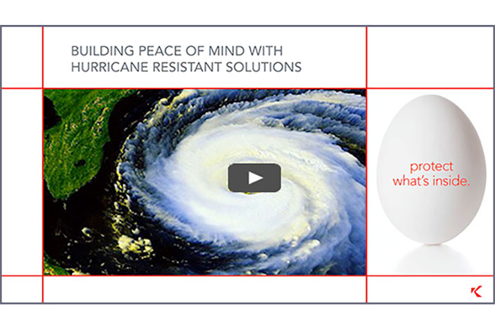 Building Peace of Mind with Hurricane Resistant Solutions