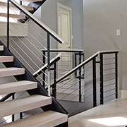Cable railing ideas for indoors - stairs, lofts & more