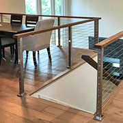 CableView Stainless Steel Square Cable Railing