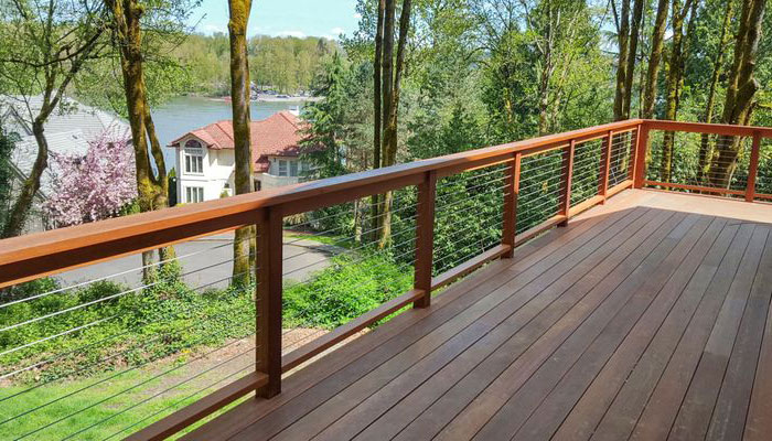 CableView Wood Cable Railing System