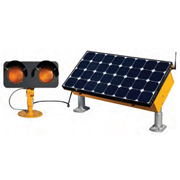 Carmanah Solar Elevated Runway Guard Light (ERGL)