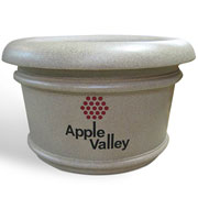 Case Study: Custom Planters for Apple Valley, Minnesota