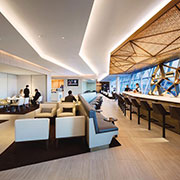Case Study: Etihad Airways - Faceted Metal Ceiling Panels