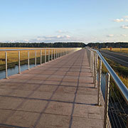 Casino Cable Railing at Chincoteague Bike Trail