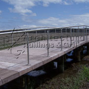 Casino Stainless Cable Rail from Architectural Railings & Grilles Inc.