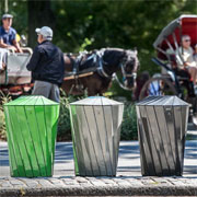 Central Park Conservancy Recycling System from Landscape Forms