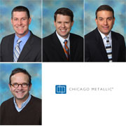 Chicago Metallic� announces leadership promotions: James B. Moynihan promoted to vice president and general manager of North American operations