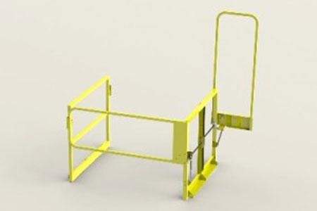 Aecinfo Com News Clear Height Mezzanine Pallet Gate