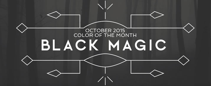 Color of the Month: Get inspired with Black Magic SW 6991
