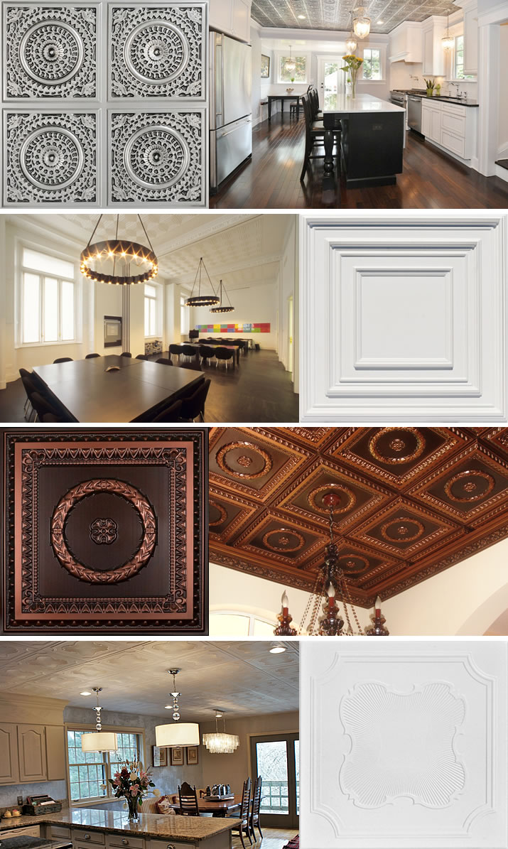 Commercial and Residential Ceiling Tiles