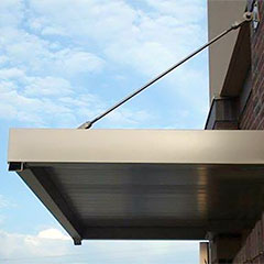 Commercial Metal Awnings