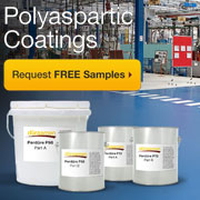 Concrete is Tough. Polyaspartic Coatings are Tougher. Get your FREE Samples Now!