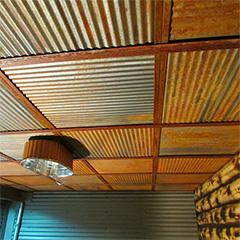 Corrugated Metal - Dakota Tin - Colorado Ceiling Tiles & Wall Panels