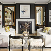 Cozy Chic: Fashion as Inspiration in a New Family Home