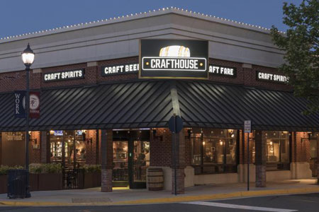 Crafthouse Restaurants Standardize on Revolving Doors to Protect Customers from the Elements