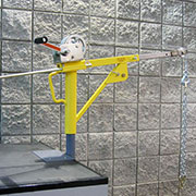 Cranky Portable Winch System from LadderPort