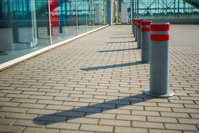 Crash-Rated Bollards Protect High-Target Sites Against Vehicle Attack