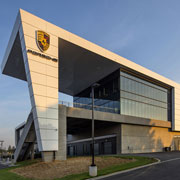 Crisp, Clean Lines, Sleek Glass and Complex Geometric Shapes for Porsche Cars HQ