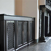 Custom Period-Matched Perforated Grilles