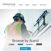 Da-Lite and Chief Now on New Milestone AV Technologies Website
