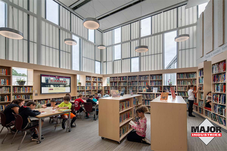 Daylighting Systems Project Spotlight: Carver Public School