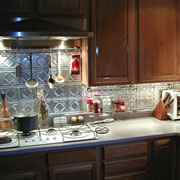 Tin Backsplash Tiles (Sheets)