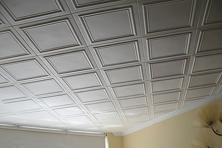 White Styrofoam Ceiling Tiles From Decorative Ceiling