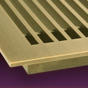 Decorative linear bar grilles for the walls and floors in your home or business