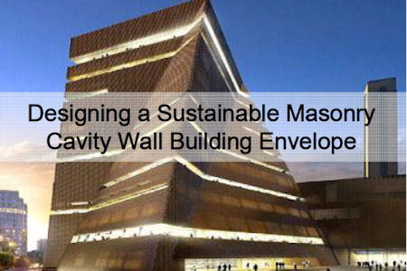 News Designing A Sustainable Masonry Building