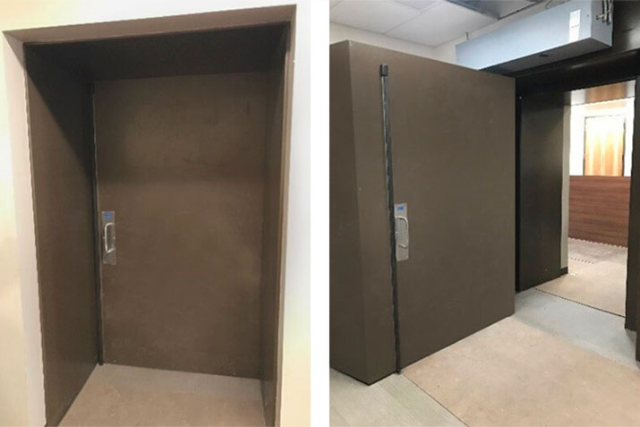 Designing, Fabricating, and Installing Accelerator Room Doors for Cancer Care Centre