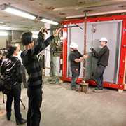 Discovery Channel Canada films AMBICO Blast Doors!