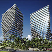 Distinctive dual towers built on Penetron