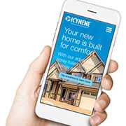 Download True Home Comfort. Right onto your IOS or Android device with the new Icynene Homeowner App!