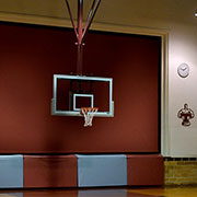 Draper Introduces Smaller, Quieter Gym Divider