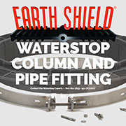 Earth Shield Waterstop for Column and Pipe Fitting