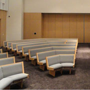 Elegant and Comfortable Church Seating