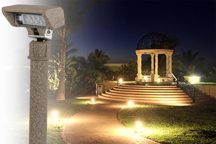 Emphasize Your Beautiful Property with Resin Landscape Lighting
