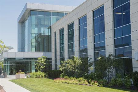 AECinfo com News: Exterior Cladding for Delnor Hospital