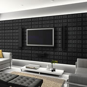 Faux Leather Tiles from Decorative Ceiling Tiles.