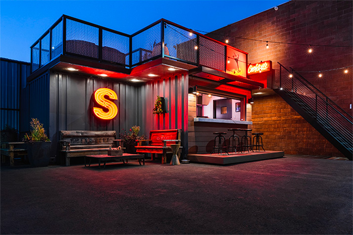 Feeney Project Showcase: Art Steedle's Container Bar